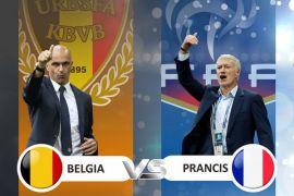 Hadapi Prancis, Roberto Martinez ganti lagi skema Belgia