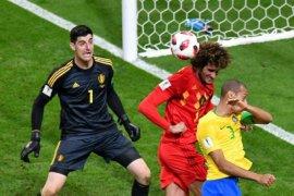 Belgia singkirkan Brazil 2-1