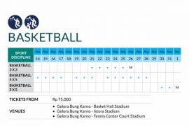 Tim basket 3x3 Indonesia siap di laga perdana
