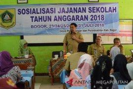 Disperindag Bogor melakukan sosialisasi jajanan sehat