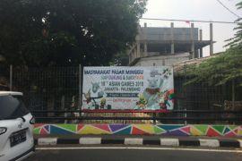DKI Jakarta gencarkan pemasangan spanduk Asian Games