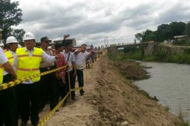 Menko Maritim tinjau proyek nasional di Samosir