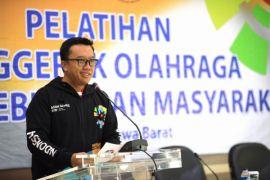 Menpora promosikan Asian Games lewat pelatihan senam