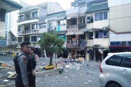 Polisi akan periksa pemilik ruko lokasi ledakan di Kebayoran