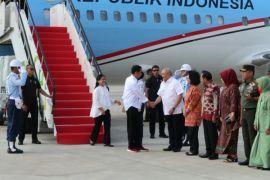Presiden kunjungan kerja ke Sumatera Selatan