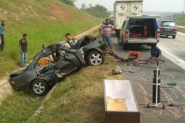 Kecelakaan Tol Cipali, lima tewas