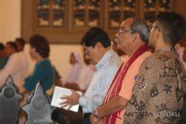 Presiden Mikronesia ikut missa di Katedral Ambon