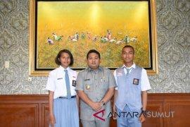 Pemkot apresiasi dua pelajar terpilih paskibra provinsi