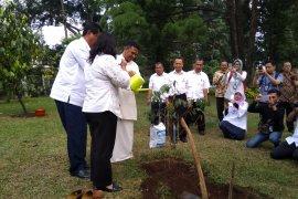 Dubes Sri Lanka lepas sandal tanam pohon