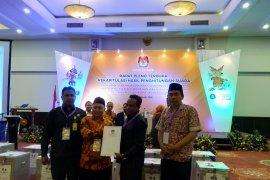 Pasangan calon nomor tiga unggul di Kota Bogor