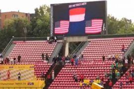 Penaikan bendera Merah-Putih untuk Zohri dilakukan secara digital