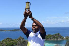 Michael Wakum bangga bawa api Asian Games