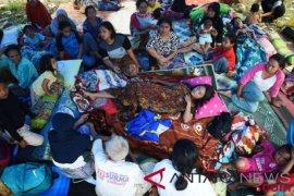 Lima perempuan berjuang melahirkan di tenda pengungsi
