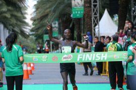 Pelari Kenya kuasai Jakarta International 10K
