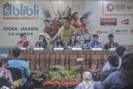Menjelang turnamen Indonesia Open 2018