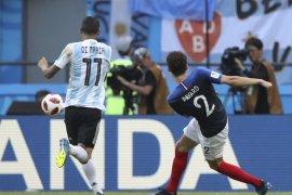 Sepakan Benjamin Pavard menjadi gol terbaik di Piala Dunia 2018