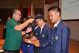 Rektor IPB lepas 262 mahasiswa ikuti IPB Goes to Field  dan ASEAN SLP 2018