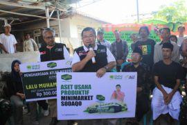 Minimarket Sodaqo untuk masa depan Zohri