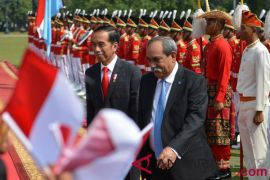 Presiden Jokowi sambut Presiden Federasi Serikat Mikronesia di Bogor