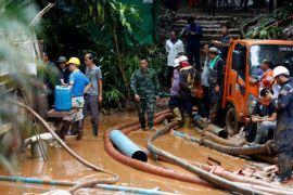 Tim sepak bola di gua Thailand dapat segera diselamatkan