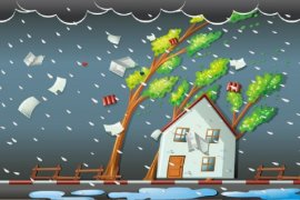 BMKG peringatkan potensi hujan deras disertai angin kencang sebagian wilayah Jatim