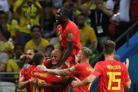 Cetak gol duluan, cara Belgia jinakkan Brasil