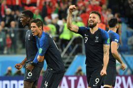 Prancis dan Kroasia tidak ubah susunan pemain pada final Piala Dunia