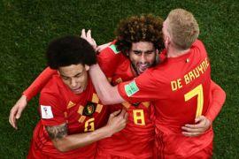 Belgia tampil mengejutkan, ungguli Brasil 2-0 di babak pertama
