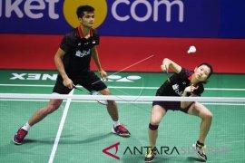 Duet Fajar-Rian tumbangkan lawan Jepang di Turnamen Indonesia Open 2018