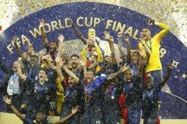 Prancis juara Piala Dunia 2018