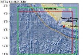 Gempa 5,2 pada skala Richter landa pesisir barat Lampung