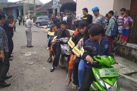 Polisi Sukabumi jaring 250 berandalan bermotor