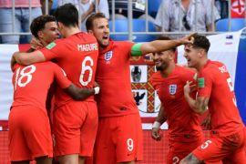 Inggris injak semifinal Piala Dunia setelah 28 tahun