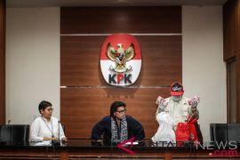 KPK resmi tahan Bupati Lampung Selatan