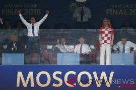 Macron selamati Putin atas suksesnya Piala Dunia
