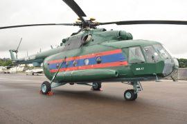 Russian Helicopters serahkan helikopter Mil Mi-17 yang diservis kepada Laos