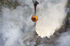 Helikopter waterbombing BPBD Kalbar sempat alami guncangan di Pulau Maya