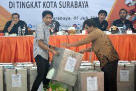 1.800 personel amankan rapat pleno KPU Lampung