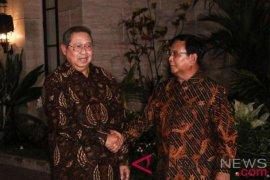 SBY akan temui Prabowo malam ini