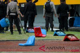 Pelaku pengrusakan kursi Stadion Jakabaring ditangkap