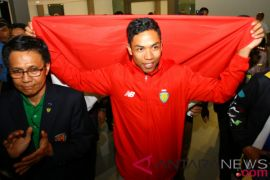 Zohri disambut dengan seremonial di Bandara Soekarno-Hatta