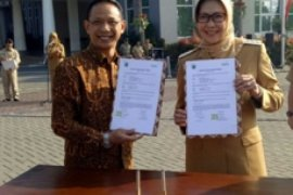 BNI Malang Bantu Sarana-Prasarana Pujasera PKL Batu