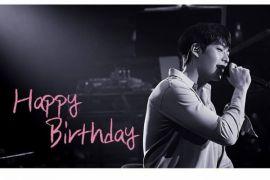 Kim Woo-bin rayakan ulang tahun ke-29, di tengah upaya melawan kanker