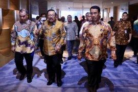 Menteri Pertanian Hadiri Rakornas Program #Bekerja di Surabaya