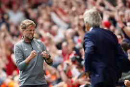 Liverpool puncaki klasemen pekan pembuka
