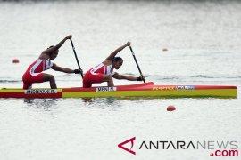 Tim indonesia raih perunggu kano 500m putri