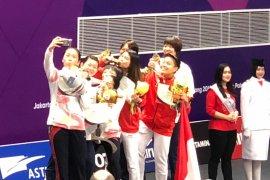Ganda putri China rebut emas