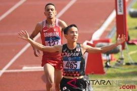 Pelari Jepang rebut emas marathon