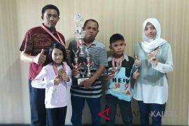 HSU Juara Umum Kejur Catur Cepat di Palangkaraya