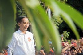 Presiden ikut senandungkan lagu nasional di Harmoni Indonesia 2018